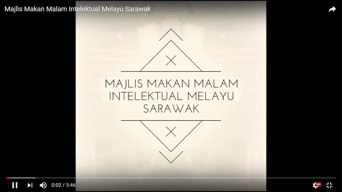 Majlis Makan Malam Intelektual Melayu Sarawak 2018