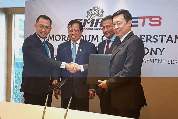 Sarawak Inks Deal With S'pore Entities For Mobile Digital Payment Platform