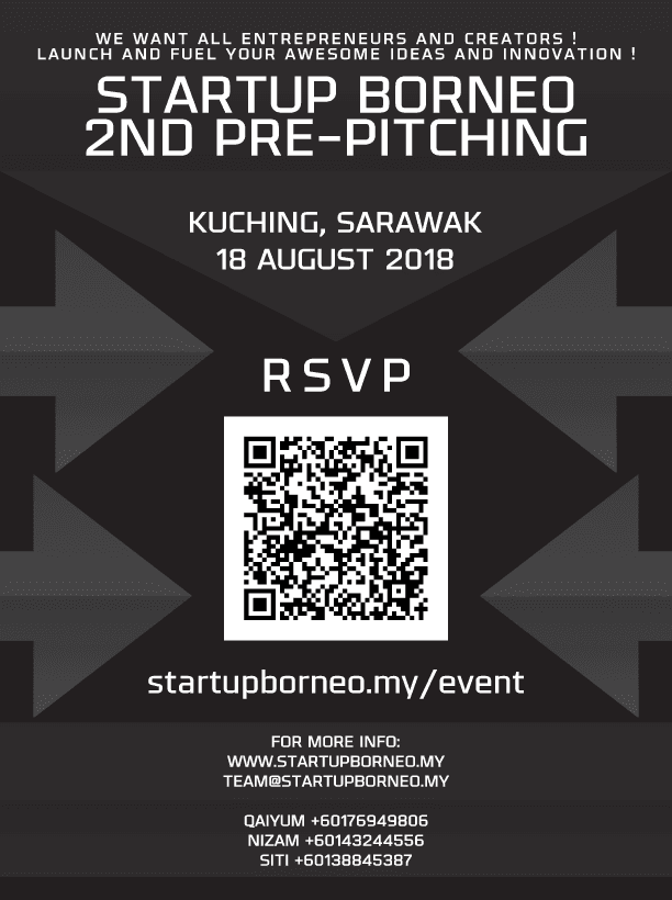 [Poster]2nd StartUp Borneo Pre-pitching