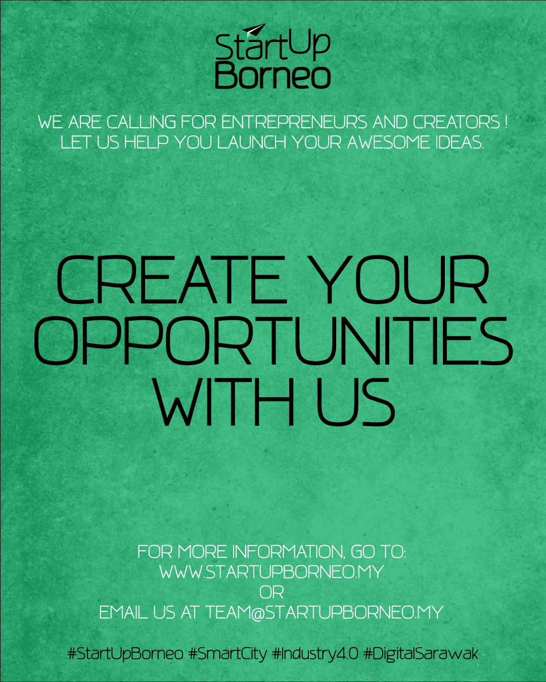 [Poster]Creat Your Opportunities With Us