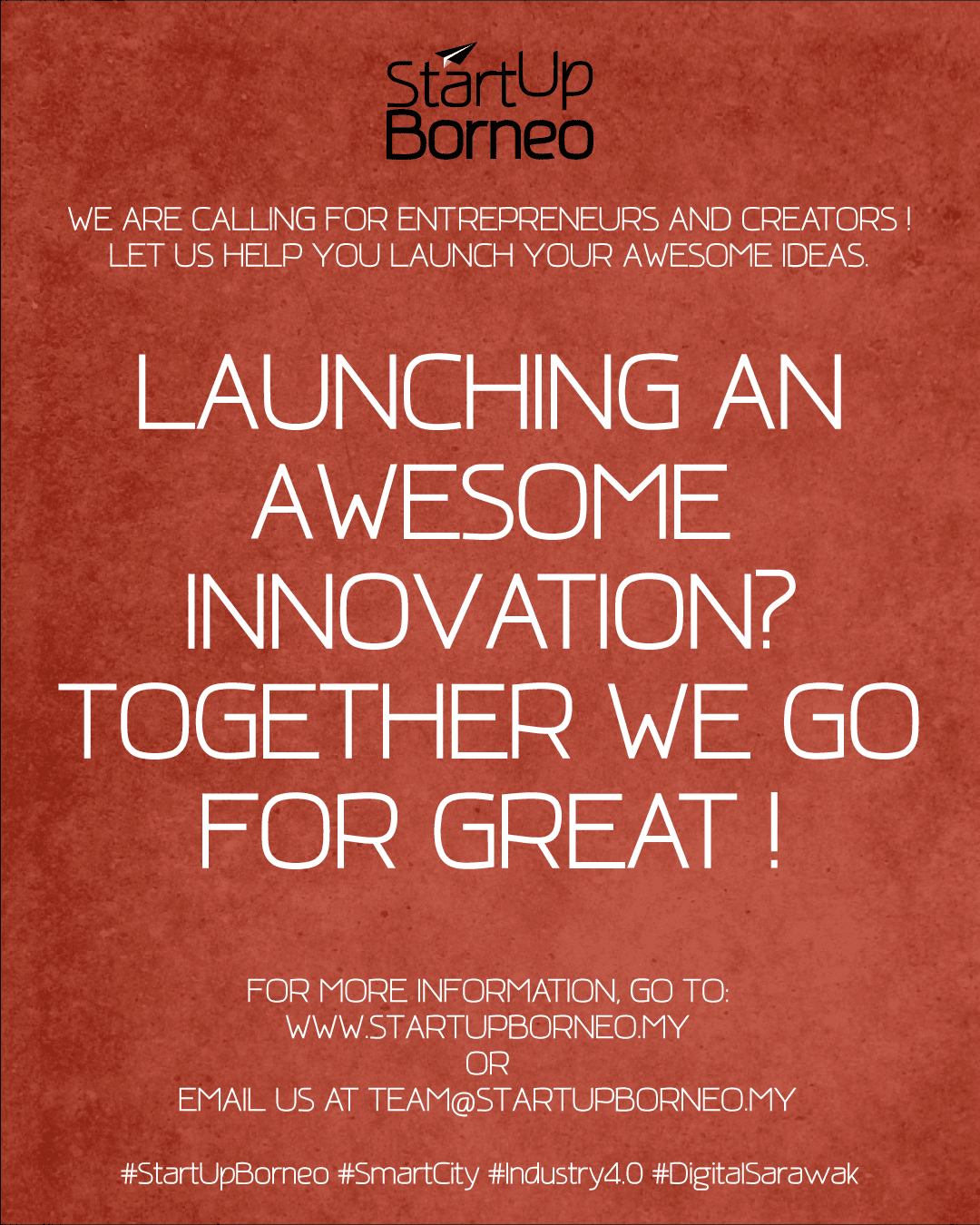 [Poster]Launching An Awesome Innovation? Together We Go For Great.