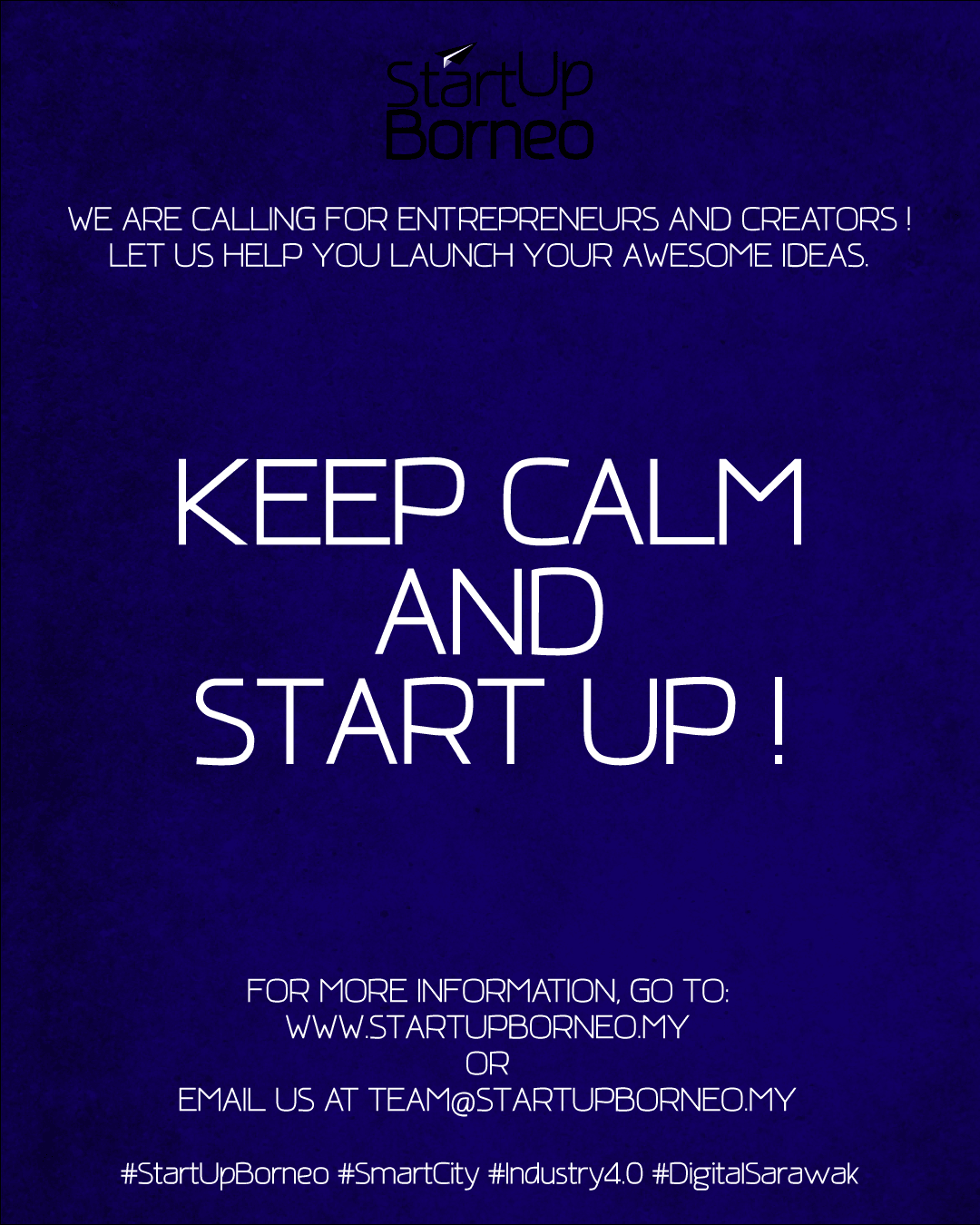 [Poster]Keep Calm and Start Up