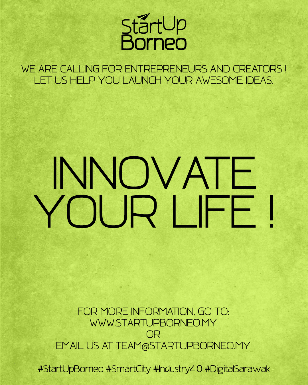 [Poster]Innovate Your Life