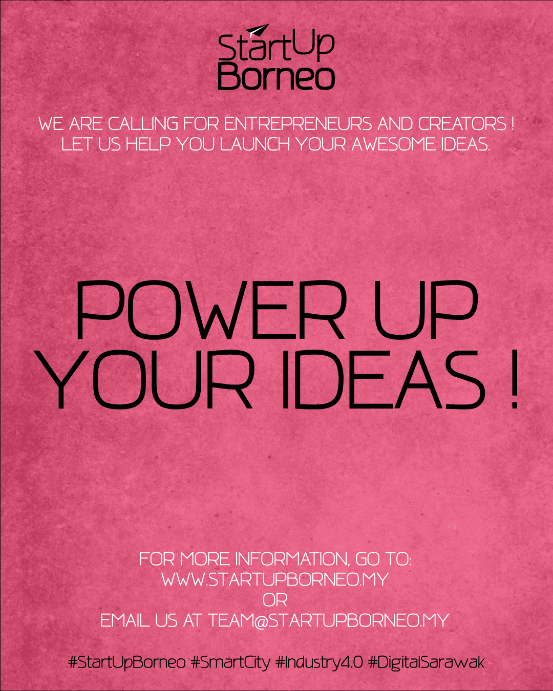 [Poster]Power Up Your Ideas