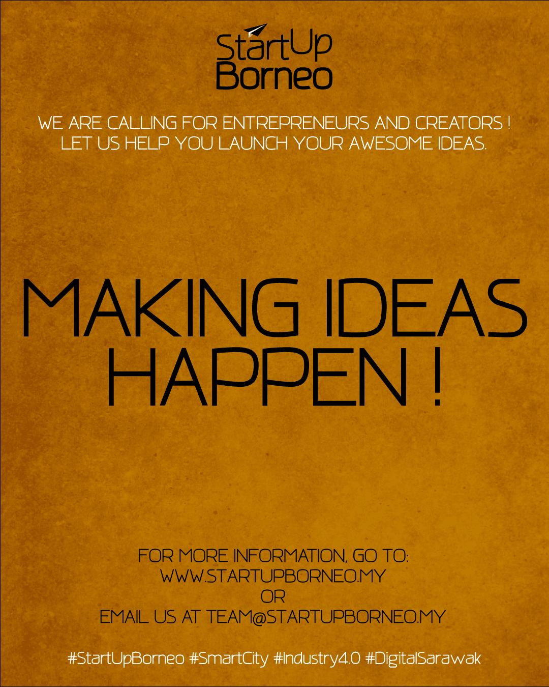[Poster]Making Ideas Happen!