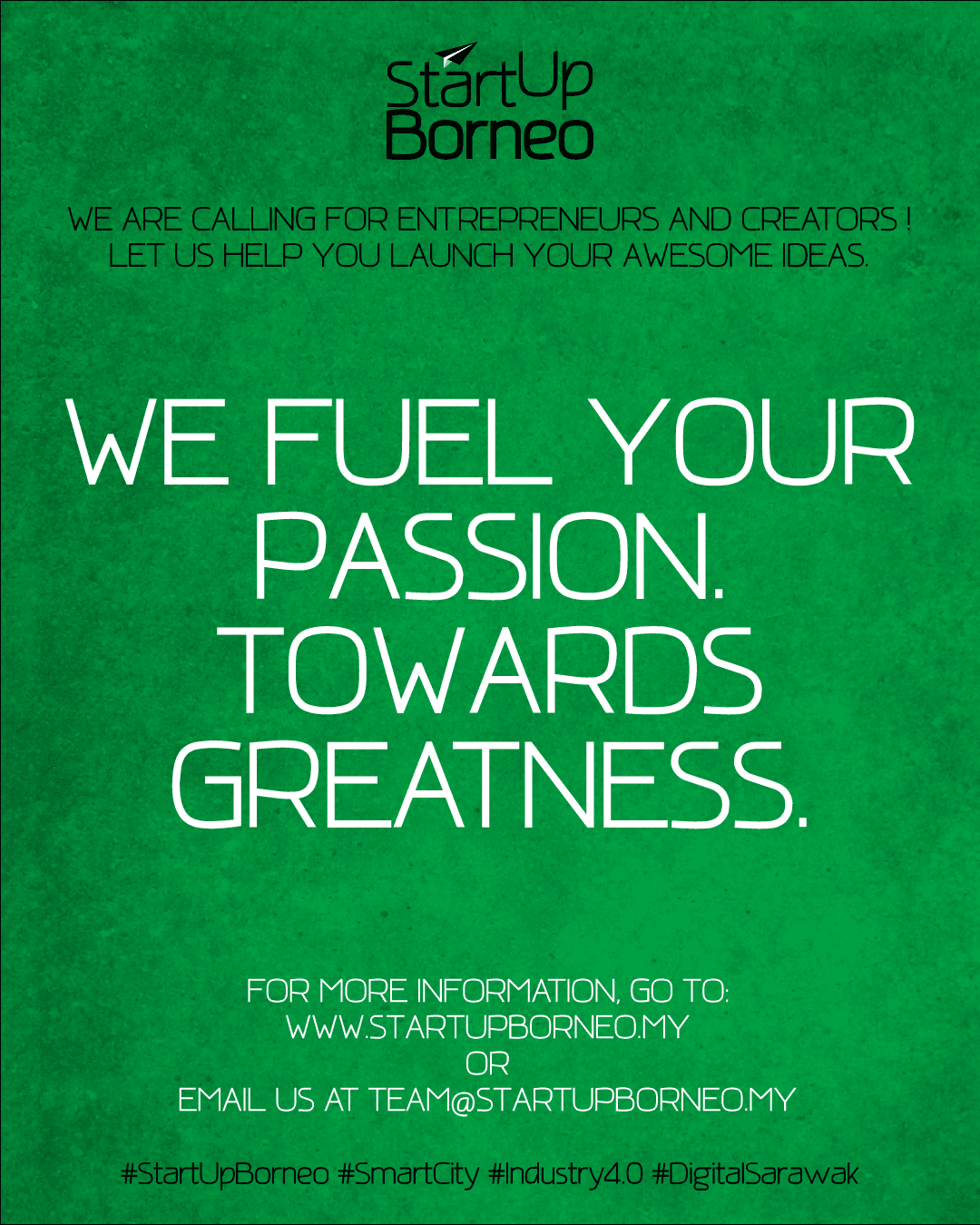 [Poster]We Fuel Your Passion. Towards Greatness.