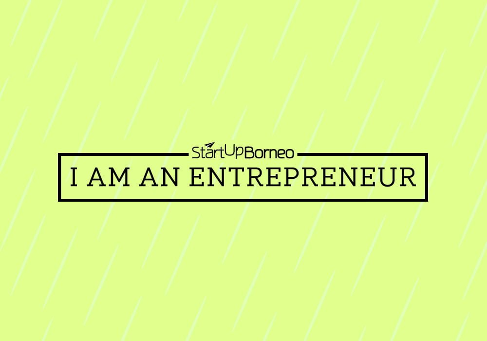 [Poster]I Am An Entrepreneur in Yellow