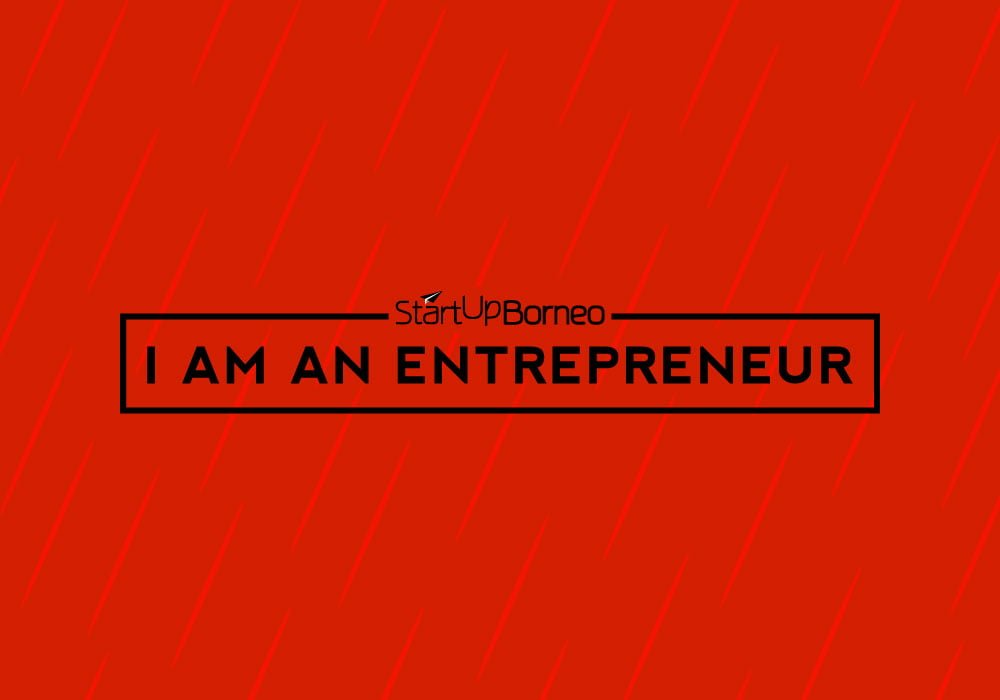 [Poster]I Am An Entrepreneur in Red