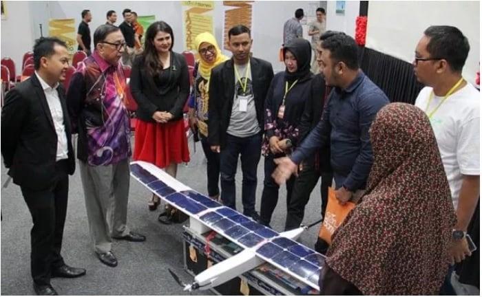 Drone Opior Asal Indonesia Juarai Startup Borneo 2018 di Malaysia