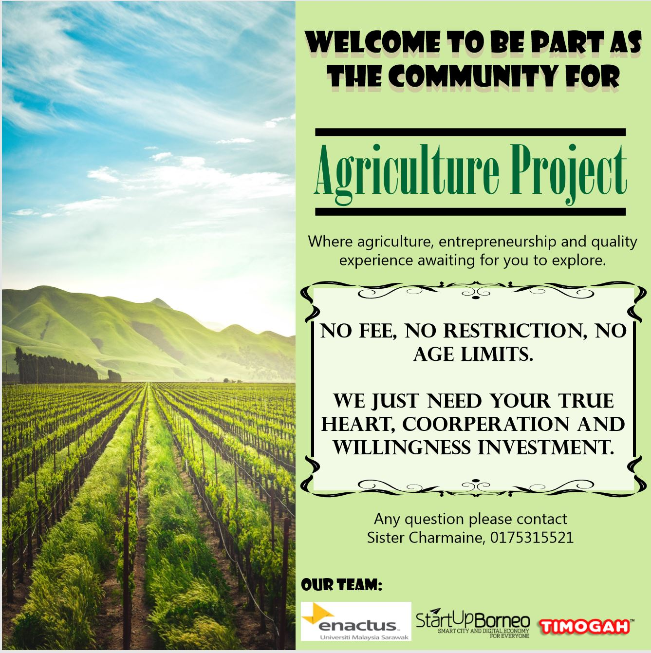 Borneo Agriculture Project