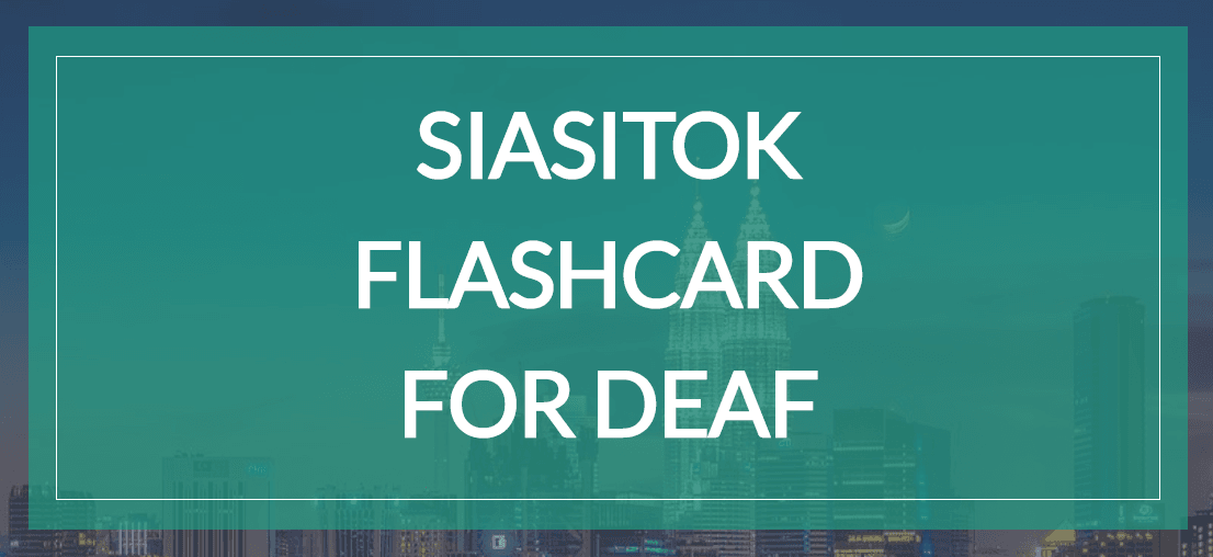Siasitok Flashcard For Deaf