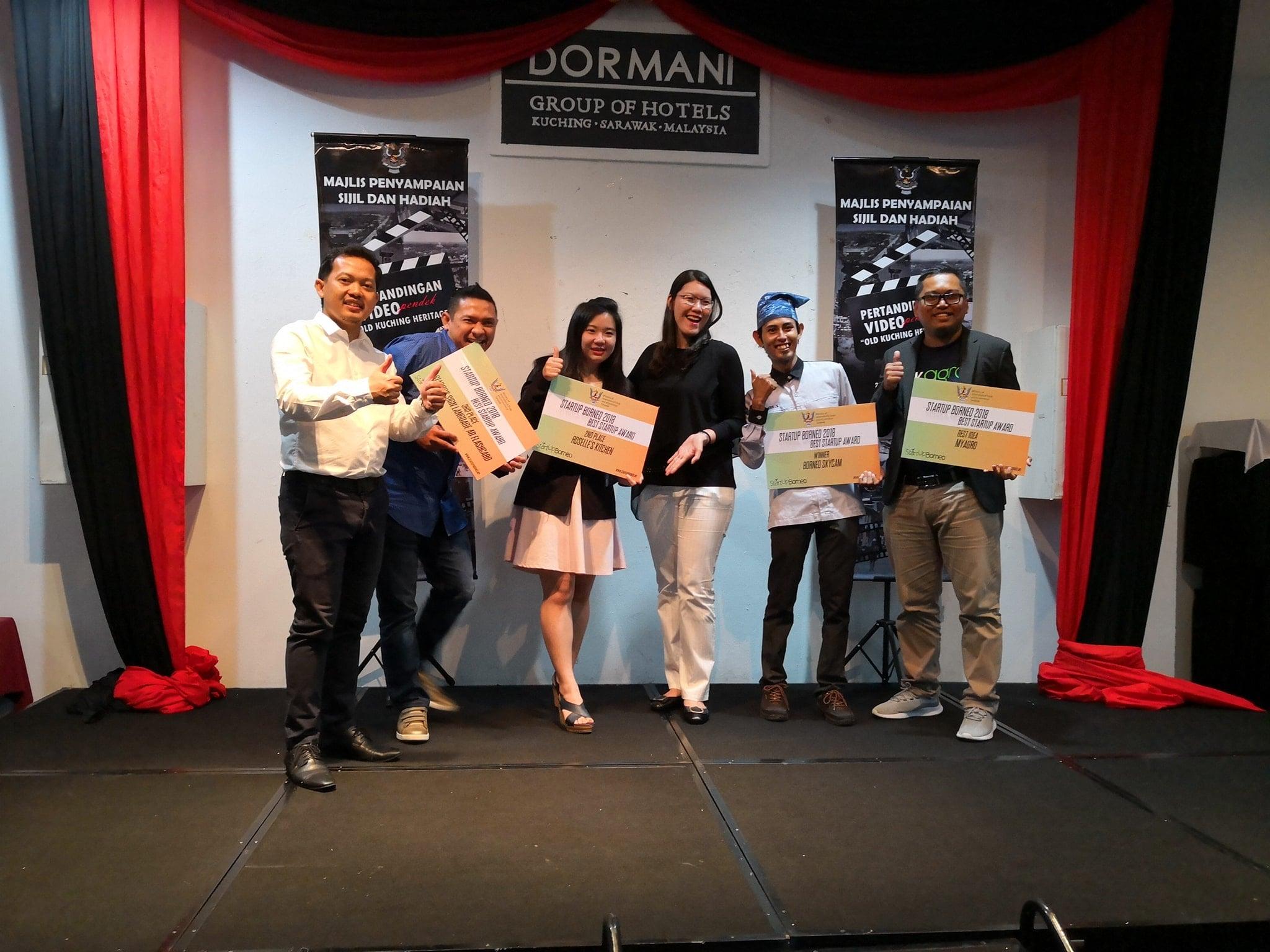 18 Startup Dibangunkan Melalui Inisiatif Kerjasama StartUp Borneo Dan Makers Meet