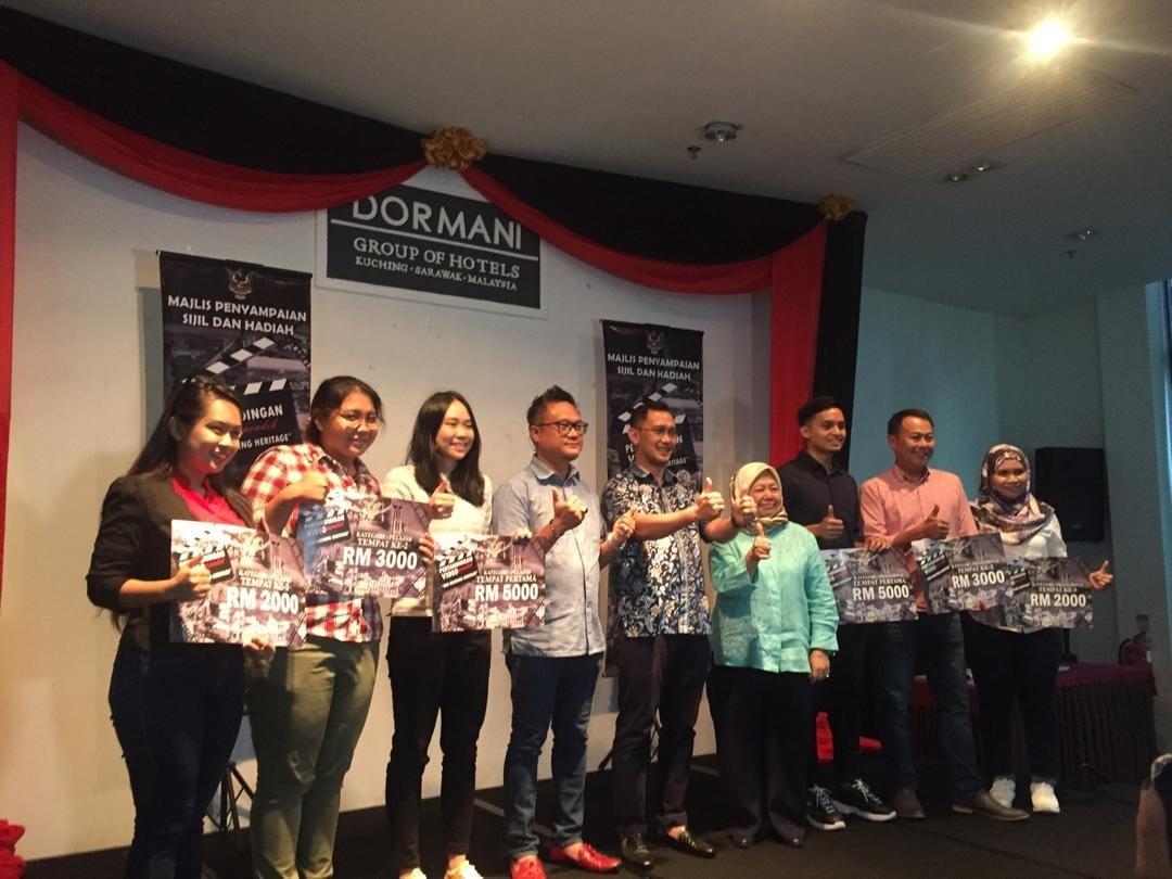 Keputusan Rasmi Pertandingan Video Old Kuching Heritage