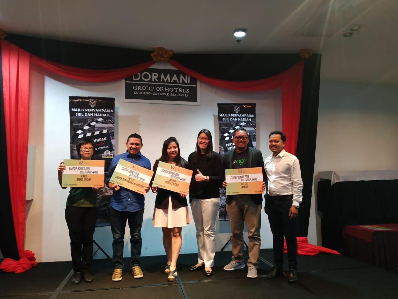 MyAgro Raih Penghargaan The Best Idea StartUp Borneo 2018