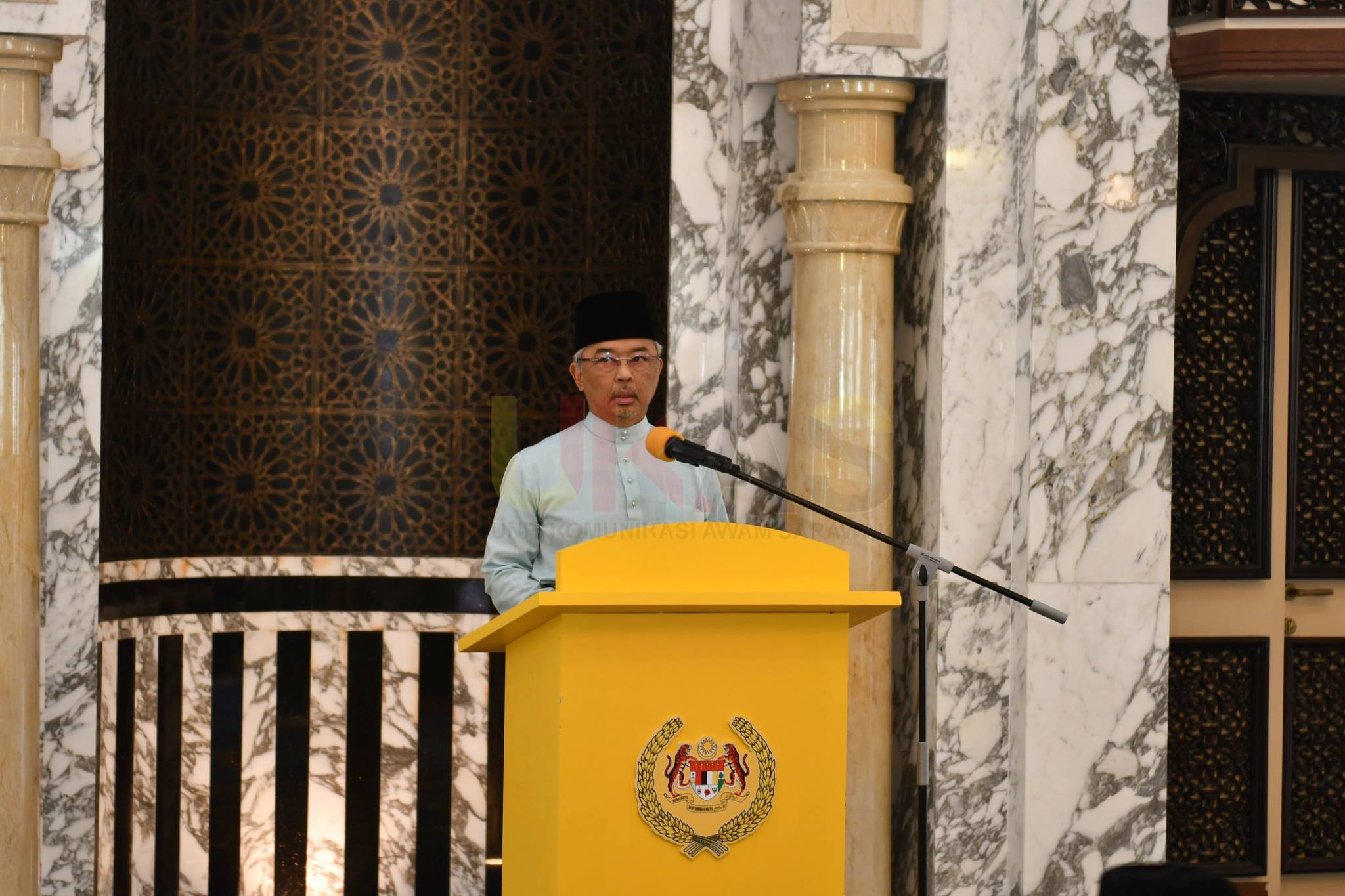 Yang di-Pertuan Agong kagum dengan pembangunan yang dinikmati Sarawak