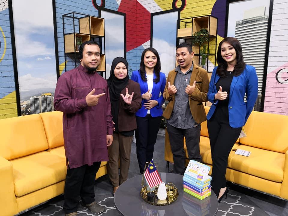'Siasitok Sign Language AR Flashcard' bersiaran secara langsung di RTM TV1.