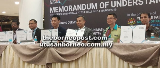 Parties sign MoU on educational hybrid rocket