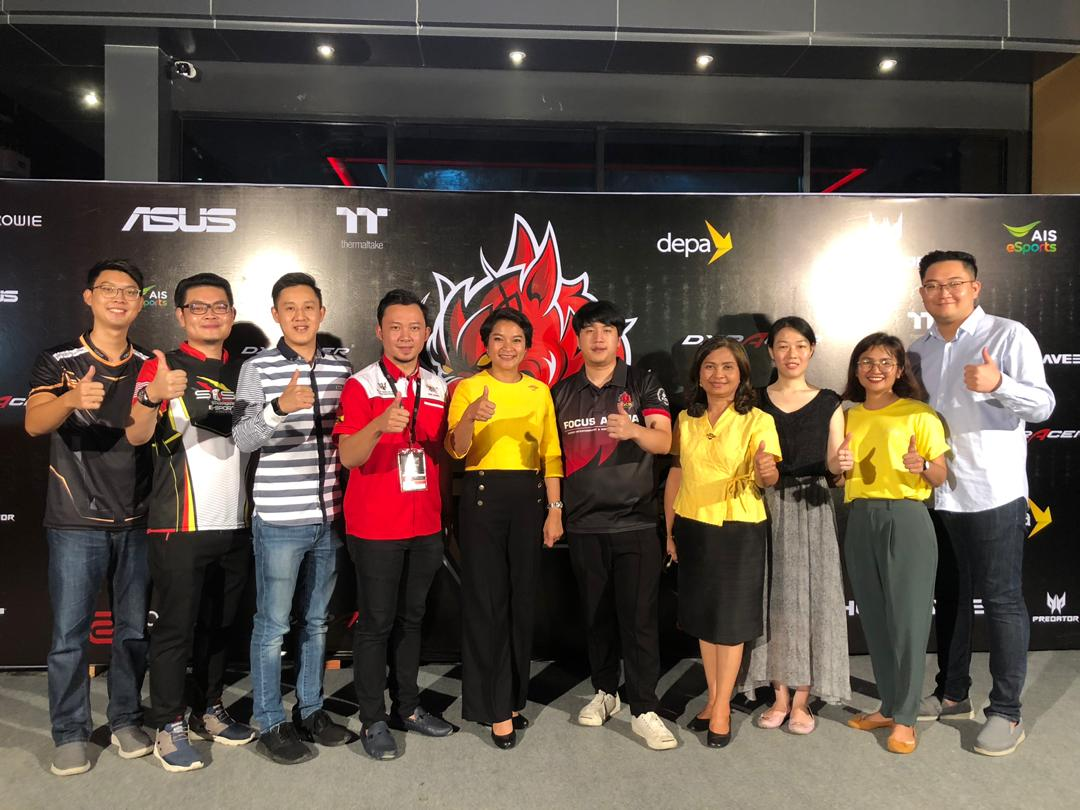 Sarawak Esports Association (SESA) & their affiliate, Miri Esports Association (MESA) were invited to Khon Kaen Province, Thailand to witness the Grand Opening of Focus Arena Esports Complex