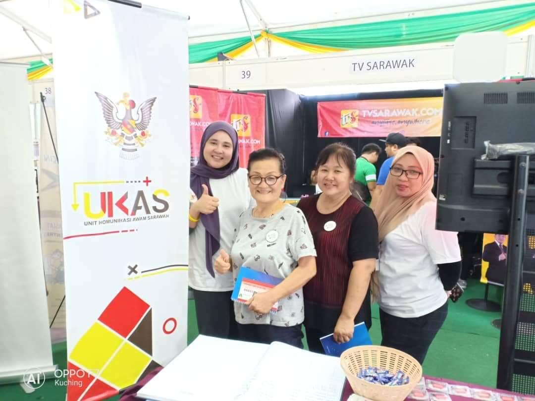 Unit Komunikasi Awam Sarawak – UKAS Di Agenda OKSHE 2019