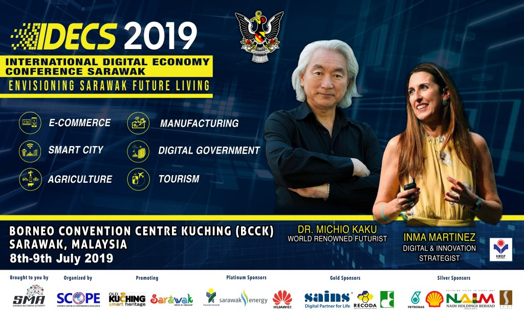 IDECS 2019, meeting with Dr. Michio Kaku