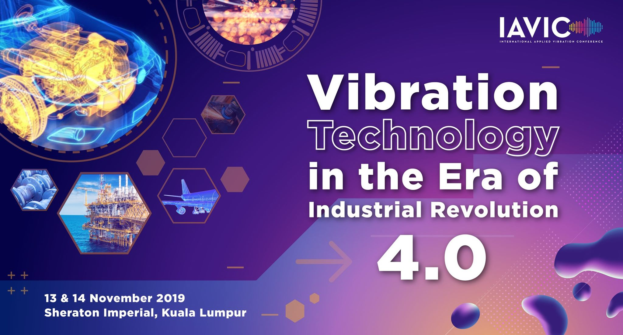 IAVIC 19′ : International Applied Vibration Conference