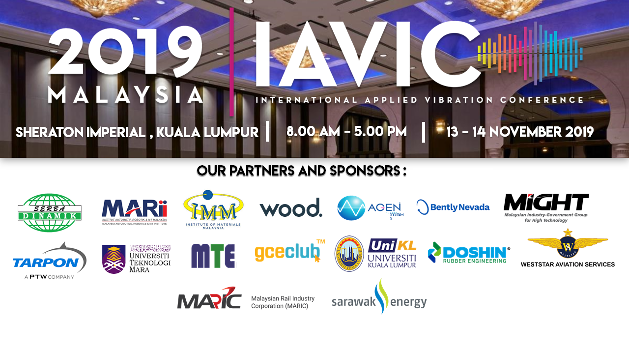International Applied Vibration Conference Partners & Sponsorship