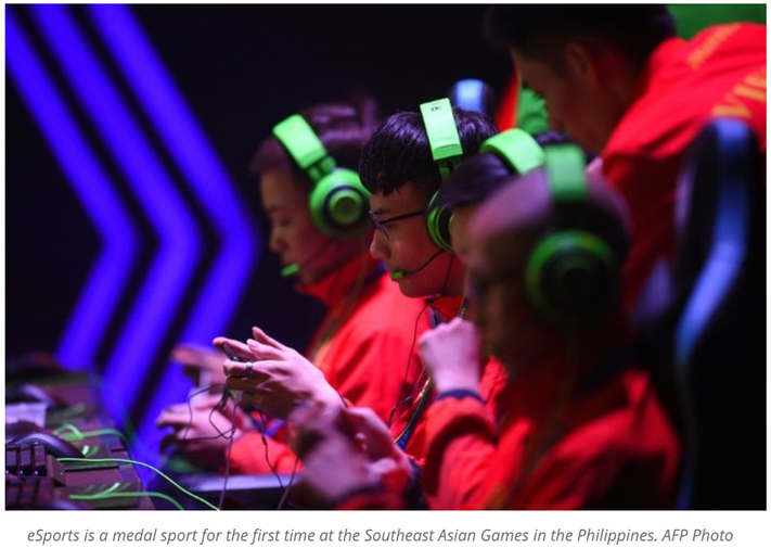 eSports levels up with SEA Games debut
