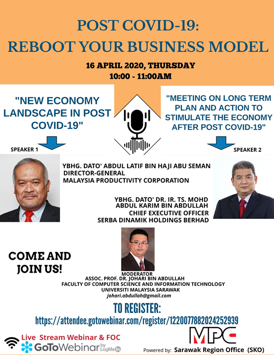 POST COVID-19: REBOOT YOUR BUSINESS MODEL