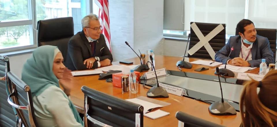 Sesi Unit Peneraju Agenda Bumiputera (TERAJU) Bersama YB Datuk Seri Mohd Redzuan Yusof, Menteri Di Jabatan Perdana Menteri (Tugas-Tugas Khas)