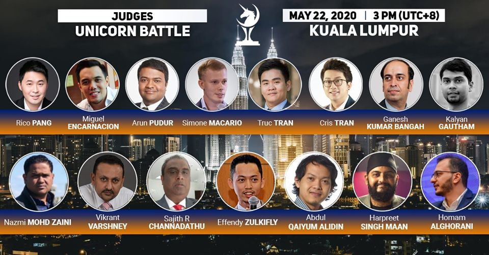 Welcome the honoured Judges (2/2) of the upcoming Unicorn Battle in Kuala Lumpur:
