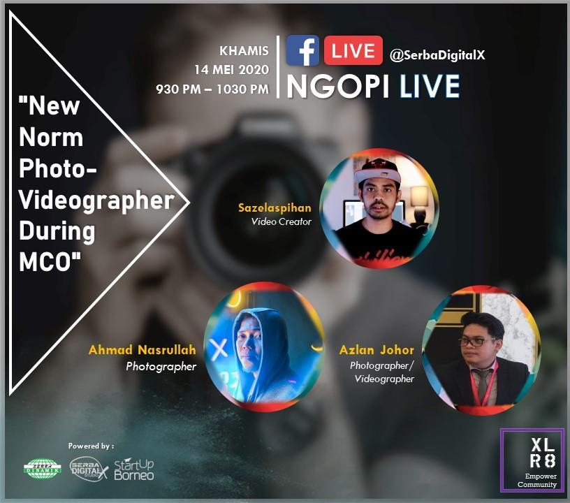Ngopi Live 6 @ Serba DigitalX Facebook Live ?