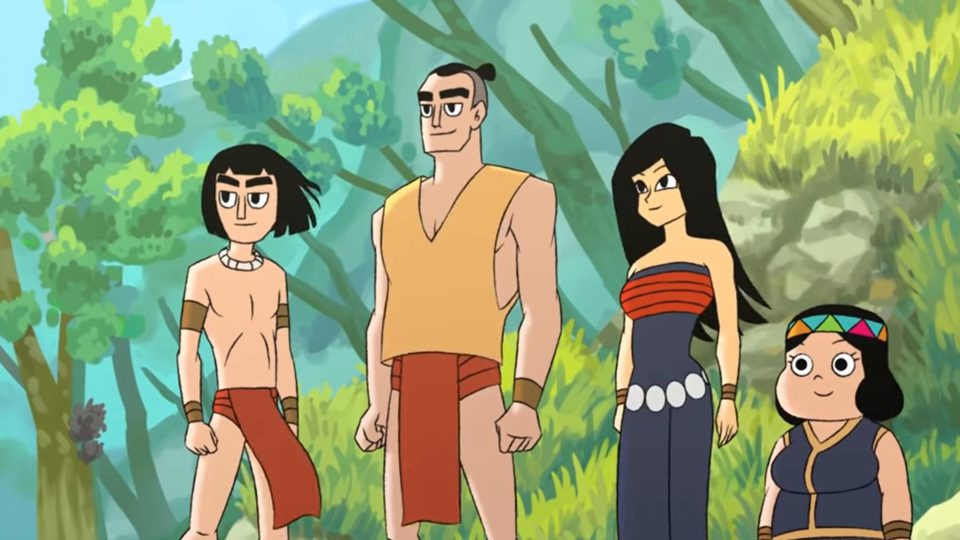 Malaysian-made 'Legend of Ancient Borneo' is the first short film entirely in Kadazan