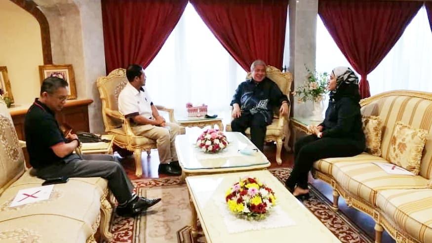 Kunjungan hormat ke pejabat YB Datuk Amar Haji Awang Tengah Ali Hasan, Timbalan Ketua Menteri Sarawak