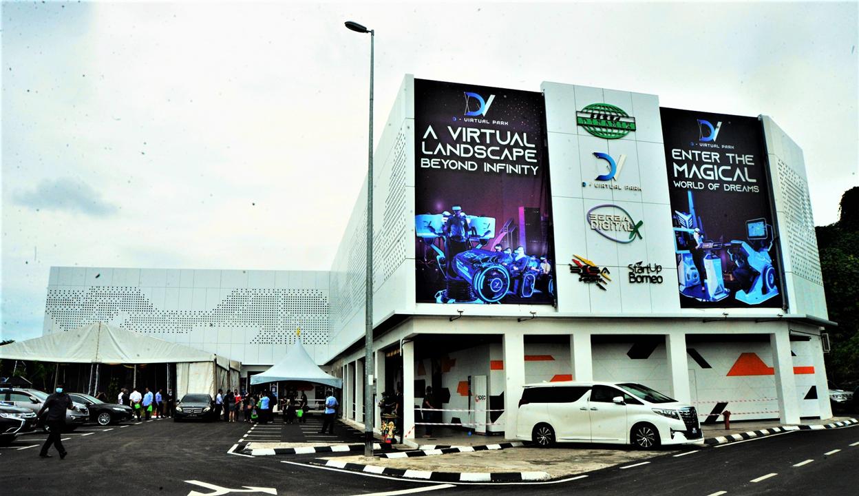 D-Virtual Park is Kota Samarahan's latest landmark