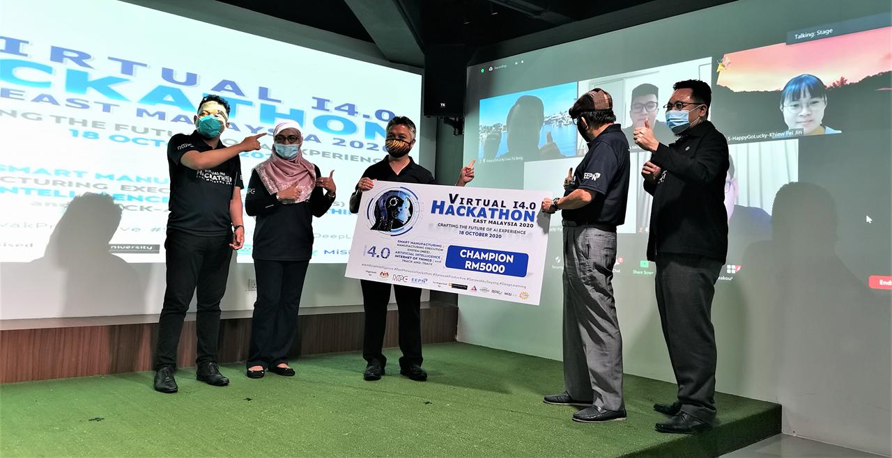 UMS group wins Virtual Hackathon