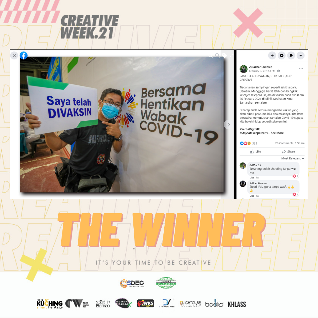 Virtual Closing Ceremony of Serba DigitalX Creative Week