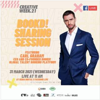 Creative Week21 Bookd Sharing Session Featuring Carl Graham