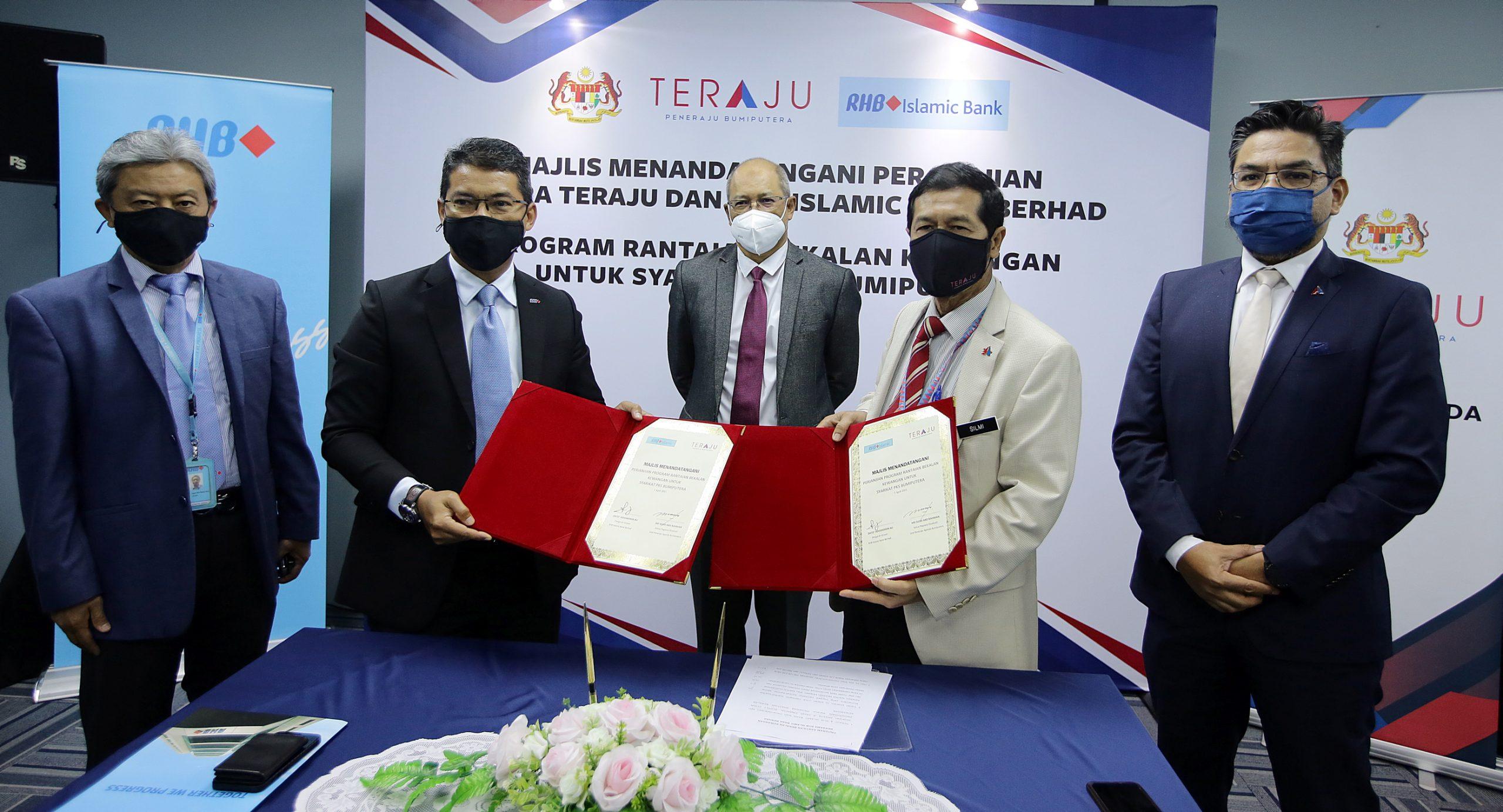 Teraju, RHB Islamic peruntuk dana RM126 juta kepada PKS
