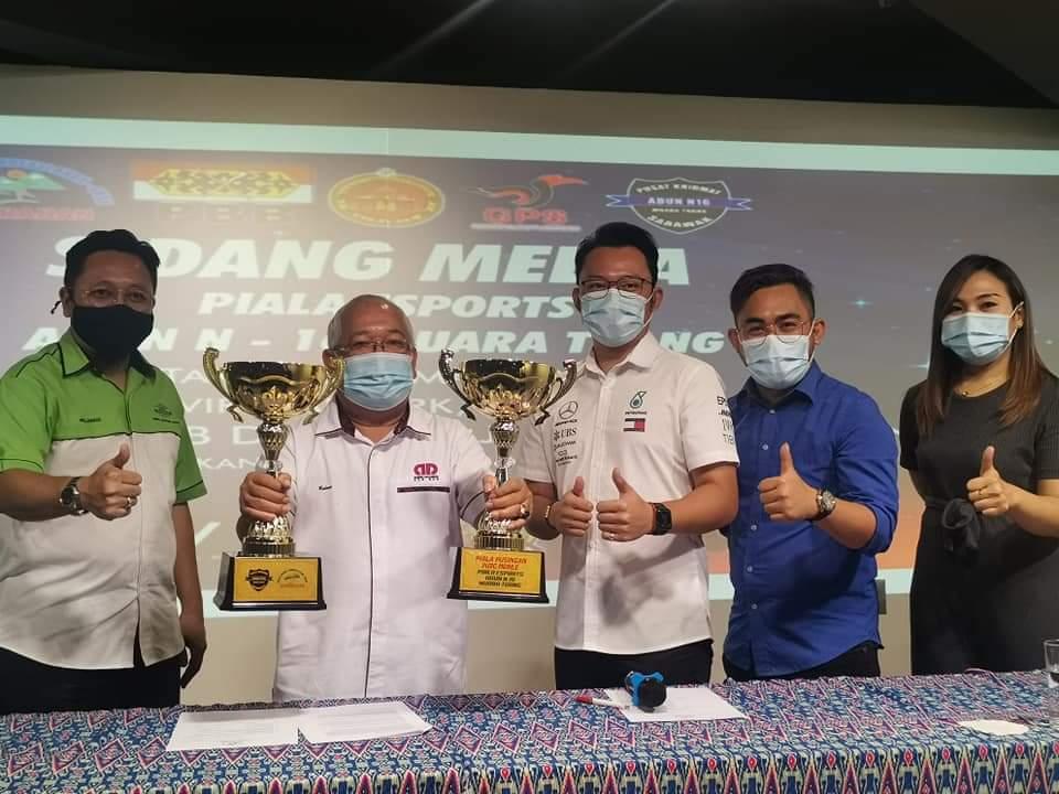 Majlis Sidang Media Piala E Sport Adun N16 Muara Tuang di Virtual Park.