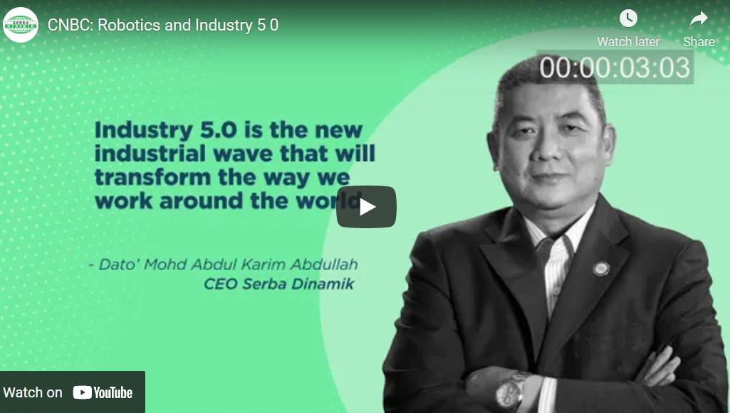 CNBC: Robotics and Industry 5 0