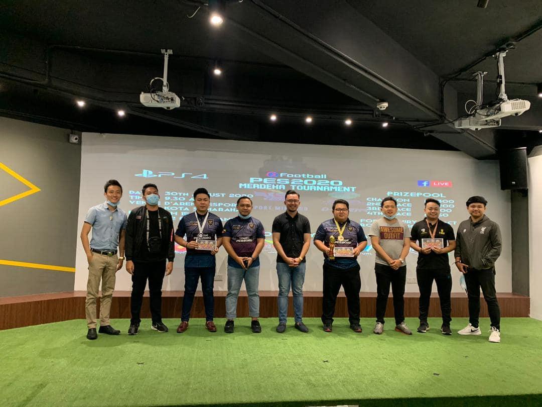 Tahniah & syabas kepda FVPxOBV_Roxxo  Juara untuk Kejohanan PES20 Merdeka Tourna…