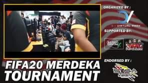 FIFA20 MERDEKA TOURNAMENT  Kejohanan FIFA20 1v1 di Mini Esports Hub D'Arena, Ko…