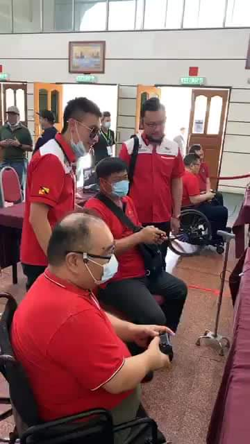 SELAMAT HARI MALAYSIA!   Menyantuni rakan-rakan kurang upaya untuk turut serta d…