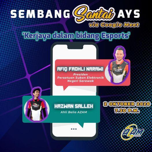 Sembang Santai AYS:  By:ANGKATAN ZAMAN MANSANG SARAWAK (AZAM) AZAM Sarawak & AZA…