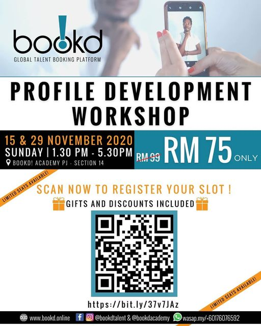 Announcement Due to CMCO, the bookd! Profile Development Workshop ® has been pos…