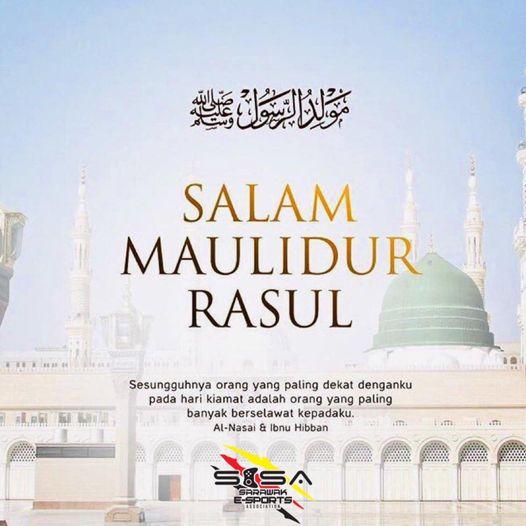 Salam Maulidur Rasul to all Muslim friends.