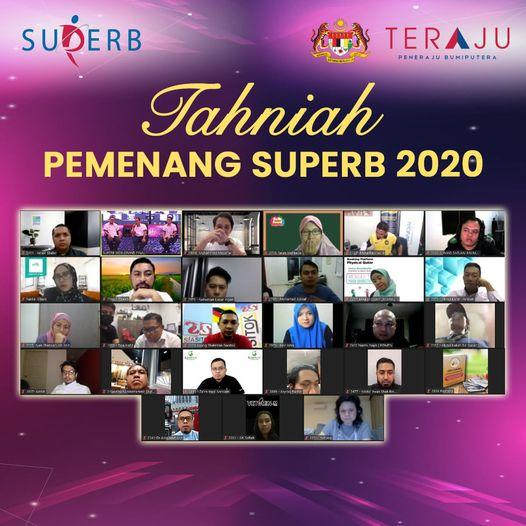 Inilah barisan pemenang SUPERB 2020!   Tahniah diucapkan kepada 25 pemenang yang…