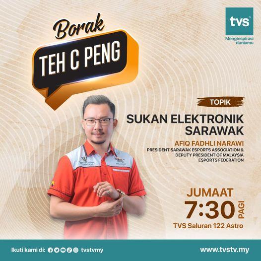 Jangan lupa saksikan rancangan Borak Teh C Peng, Jumaat 7.30 pagi di saluran 122…