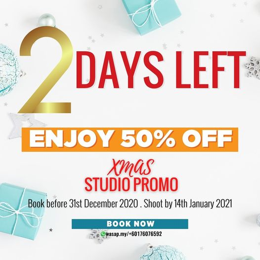 Book Your Slot Now before 2021!  wasap.my/+60176076592  Enjoy bookd! 50% Discoun…
