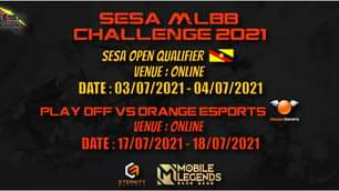 SESA MLBB Sarawak Qualifier  Disclaimer:  The MLBB Qualifier stream for your vie…